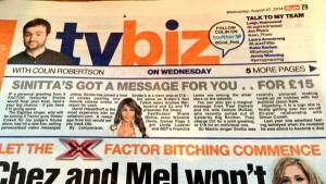 PR UK -style: loads of spontaneous coverage for CelebVM following this mention in the Sun